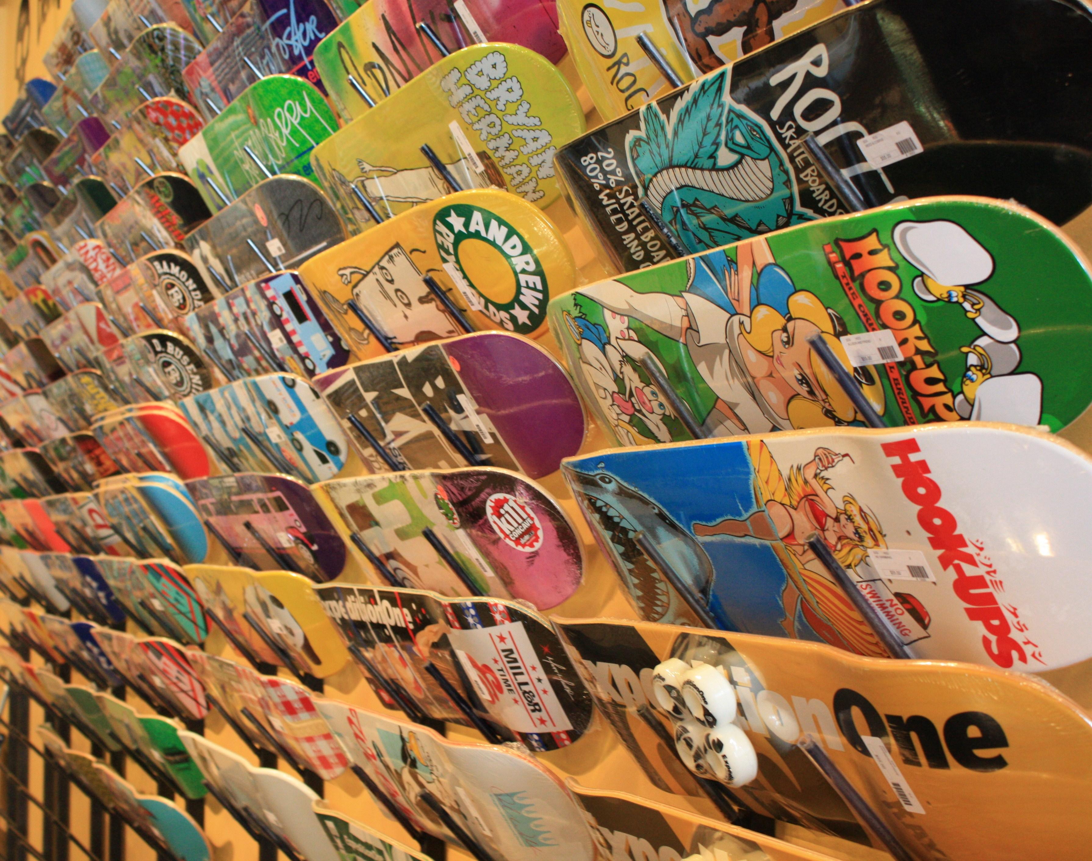 vans skateboard shop